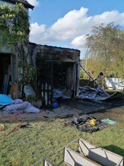 expertise de dégâts incendie à Godinne